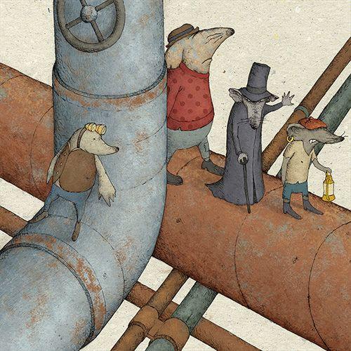 Andrea Cortese - Children's illustration
