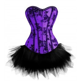 pinjennifer leblanc on my style  purple corset
