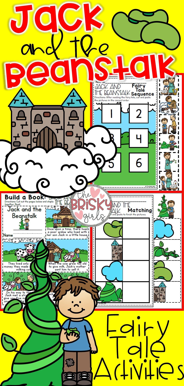 Fairy Tales Kindergarten Jack And The Beanstalk