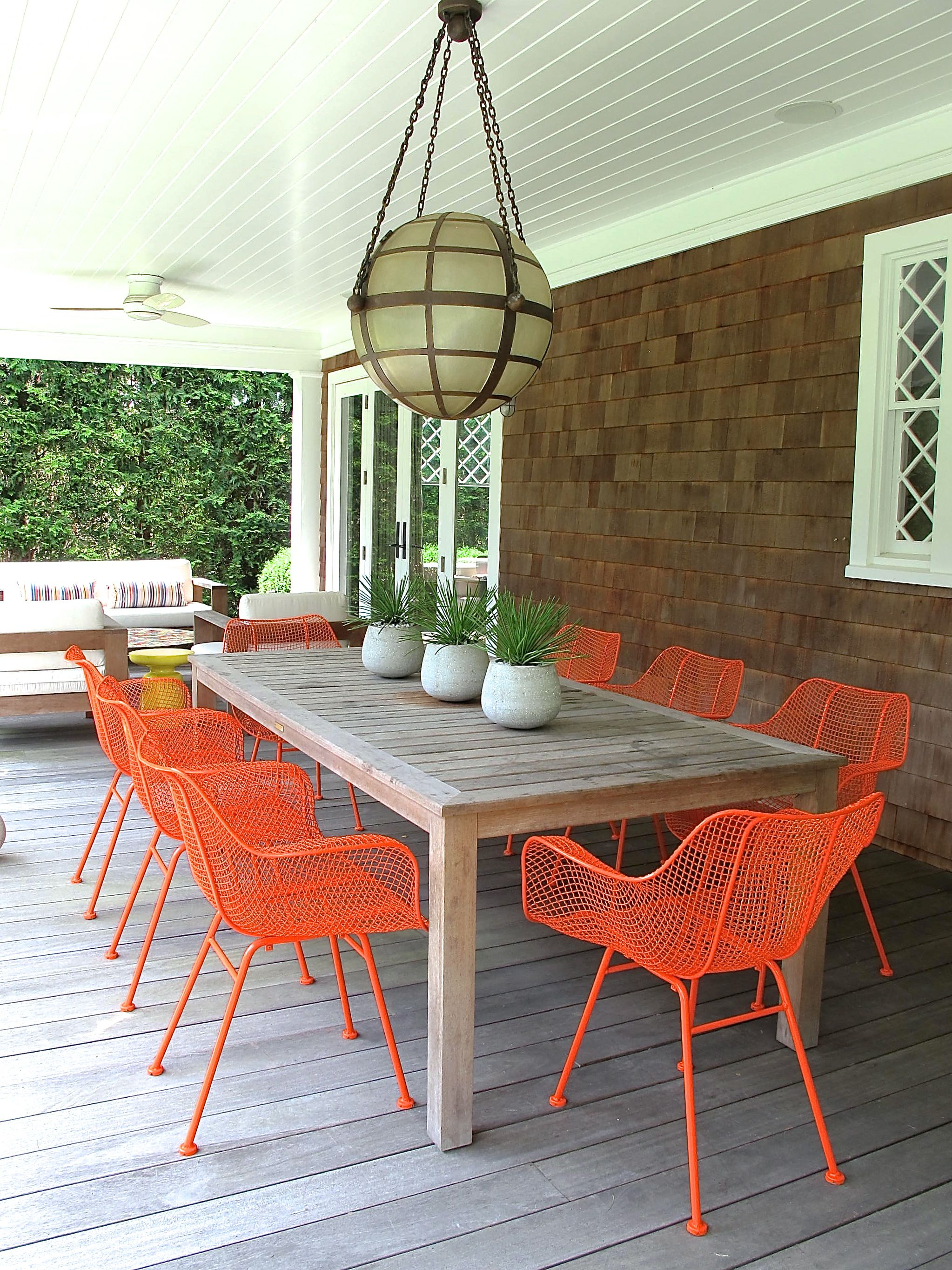 Painting Our Outdoor Dining Chairs Favorite Places
