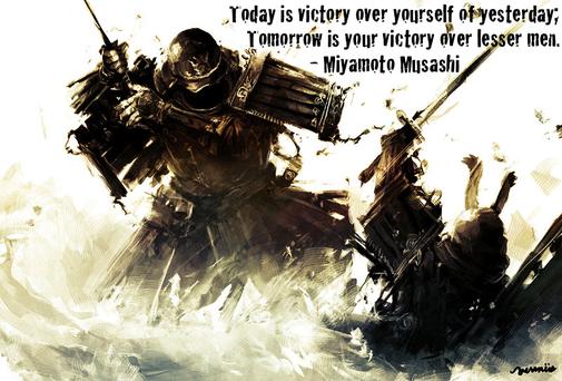 The life of Miyamoto Musashi