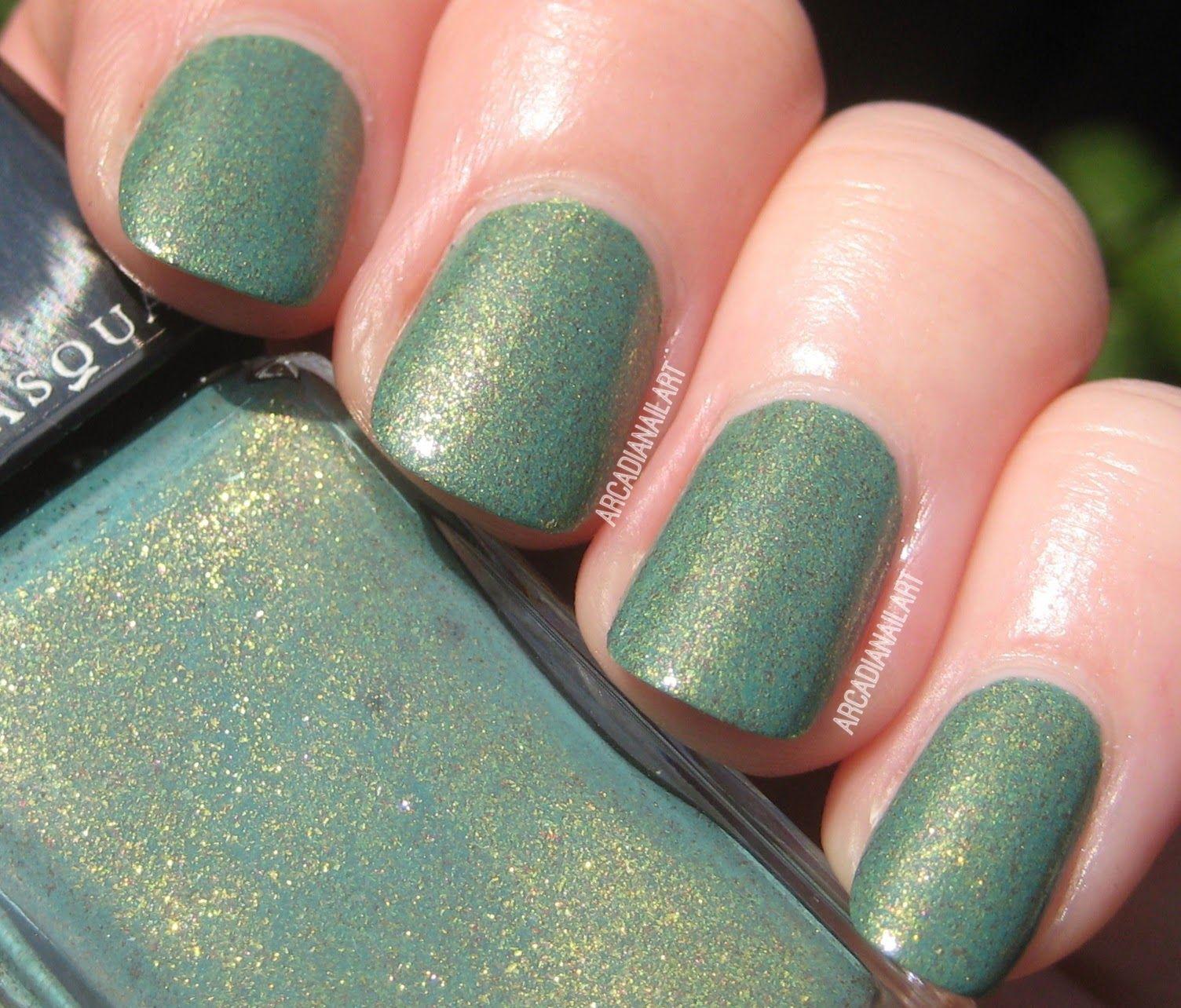 Illamasqua, Melange. Jade Green Foiled Nail Polish. | Claws ...