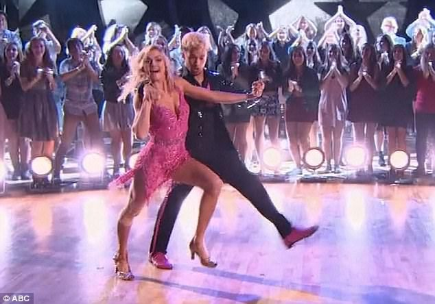 Dwts Drew Scott And Pro Partner Emma Slater Get Eliminated Dancing With The Stars Dwts Dance