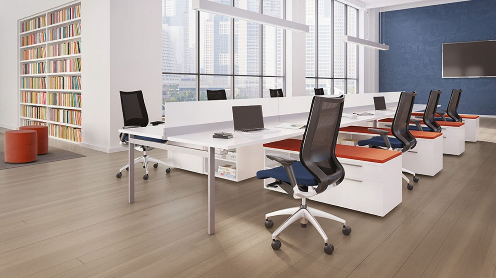 STAKS First Office Open Plan Open Space Reconsider Because - Open office furniture