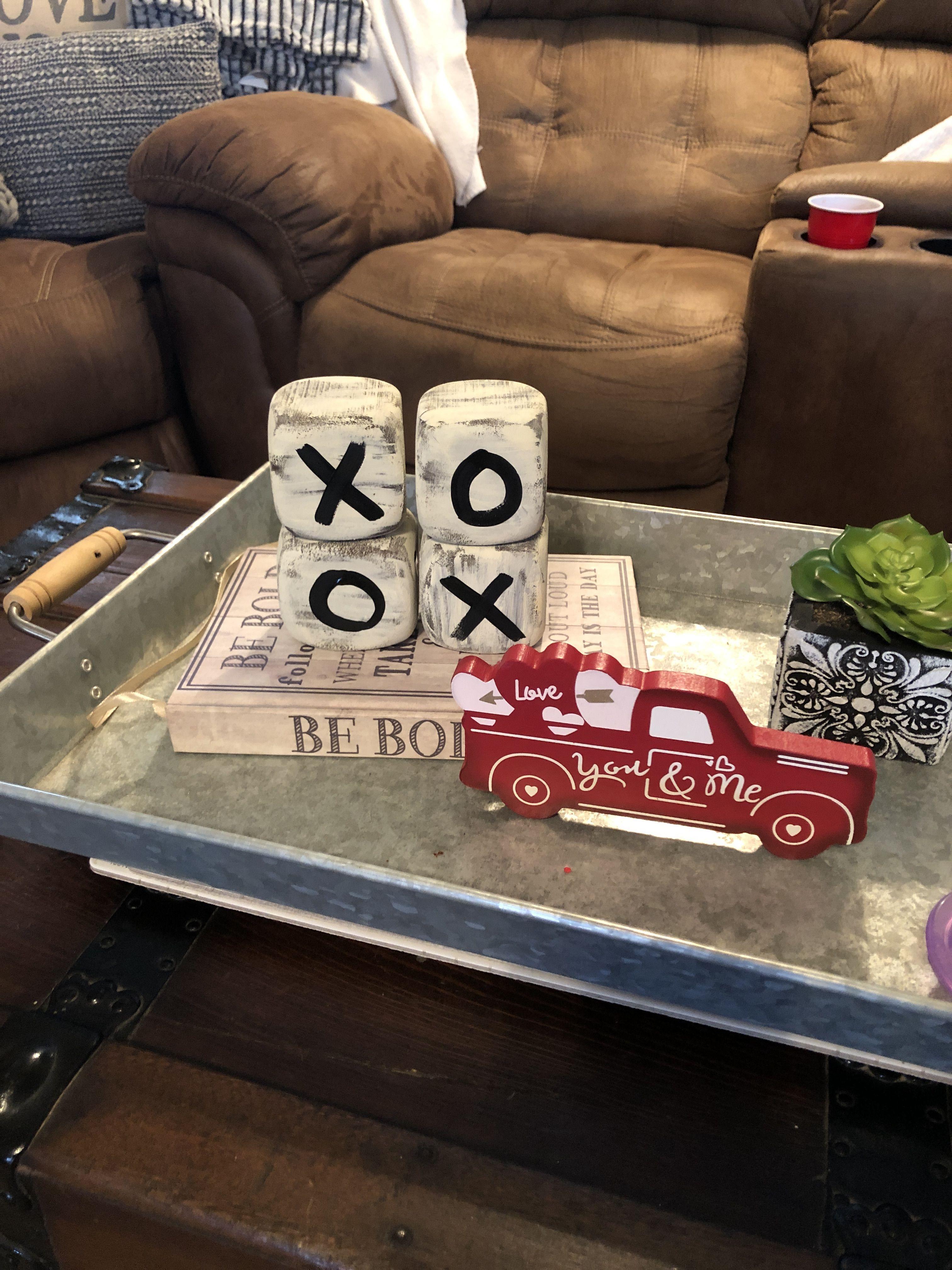 Foam dice from the dollar tree.. XOXO in 2020 Coffee