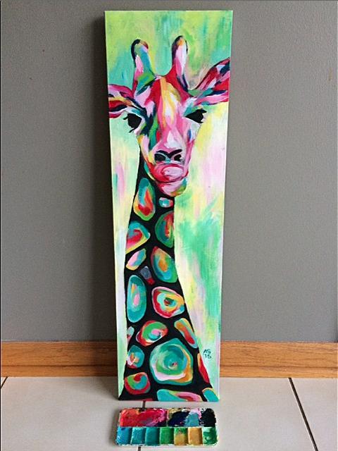 Meet Shelby Giraffe Art Inspired By Wassily Kandinsky S