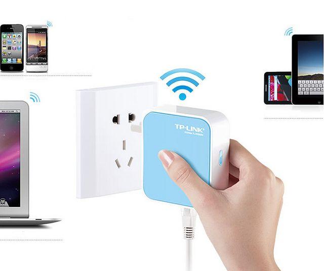 Adattatore Smart TV Decoder e Nano Router Wireless - Connette Smart TV e Decoder ad Internet utilizzando la rete wireless - http://tinyurl.com/nzx7sr3
