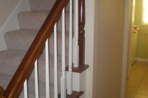 Best Architecture Wood Stair Spindles Lowes Clasic Banister 640 x 480