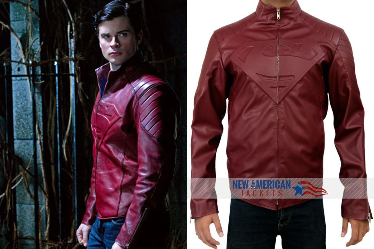 RED SUPERMAN SMALLVILLE JACKET http//www