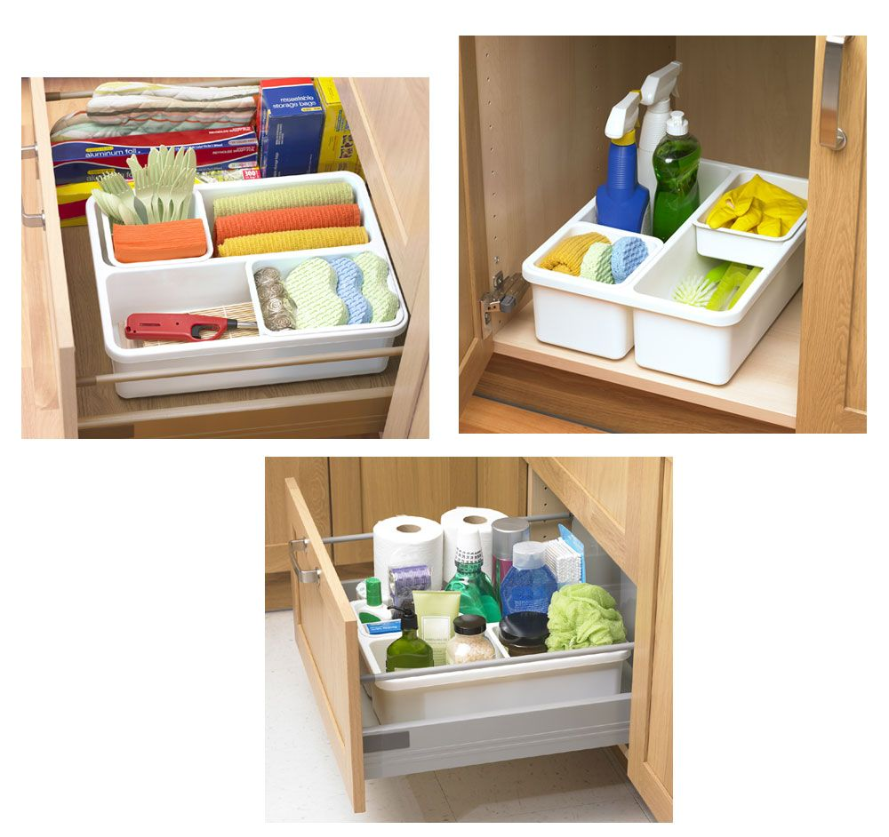 Deep Drawer Organizer By Progressive Stacks And Stacks Deep Drawer Organization Tray Organization Kitchen Utensil Organization