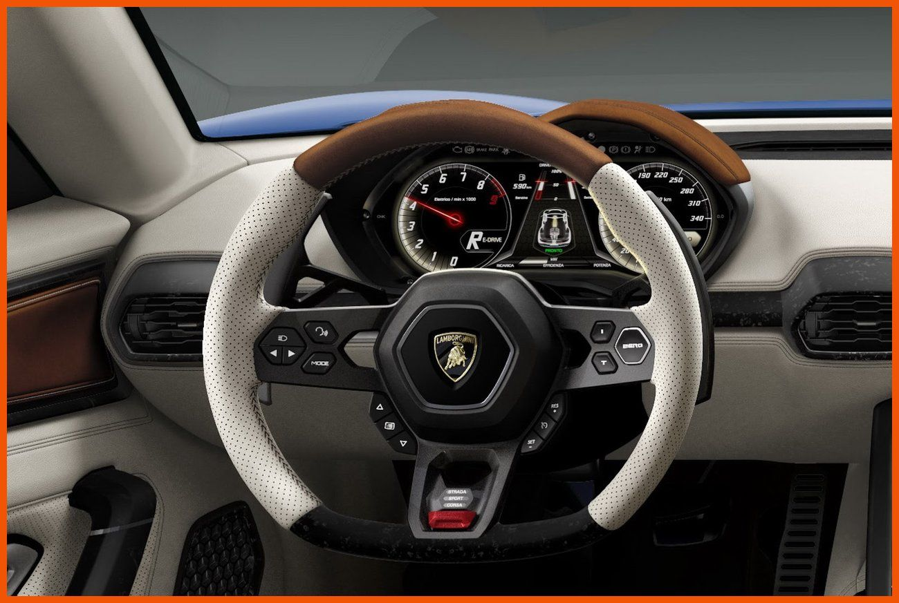 Lamborghini Asterion Lpi 910 4 Interior Steering Wheel Wallpaper