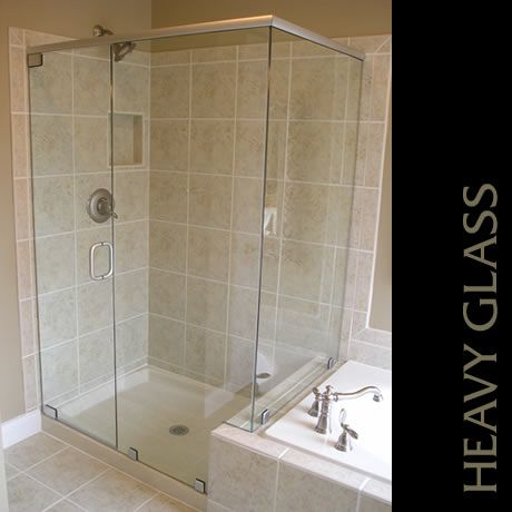 This Unit Features Pivot Hinges They Hinge Off The Top And Bottom Of The Door And Has Satin Hardware Photo Cour Shower Doors Glass Shower Glass Shower Doors