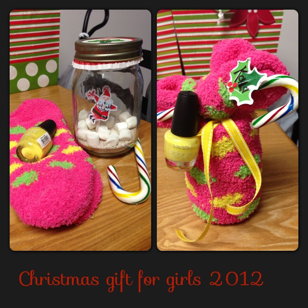 My Christmas Gifts: Christmas Gift For Teenage Girls...under $4. In The Jar Is