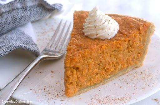 Sweet Potato Pie Recipe | Yummly #sweetpotatopie