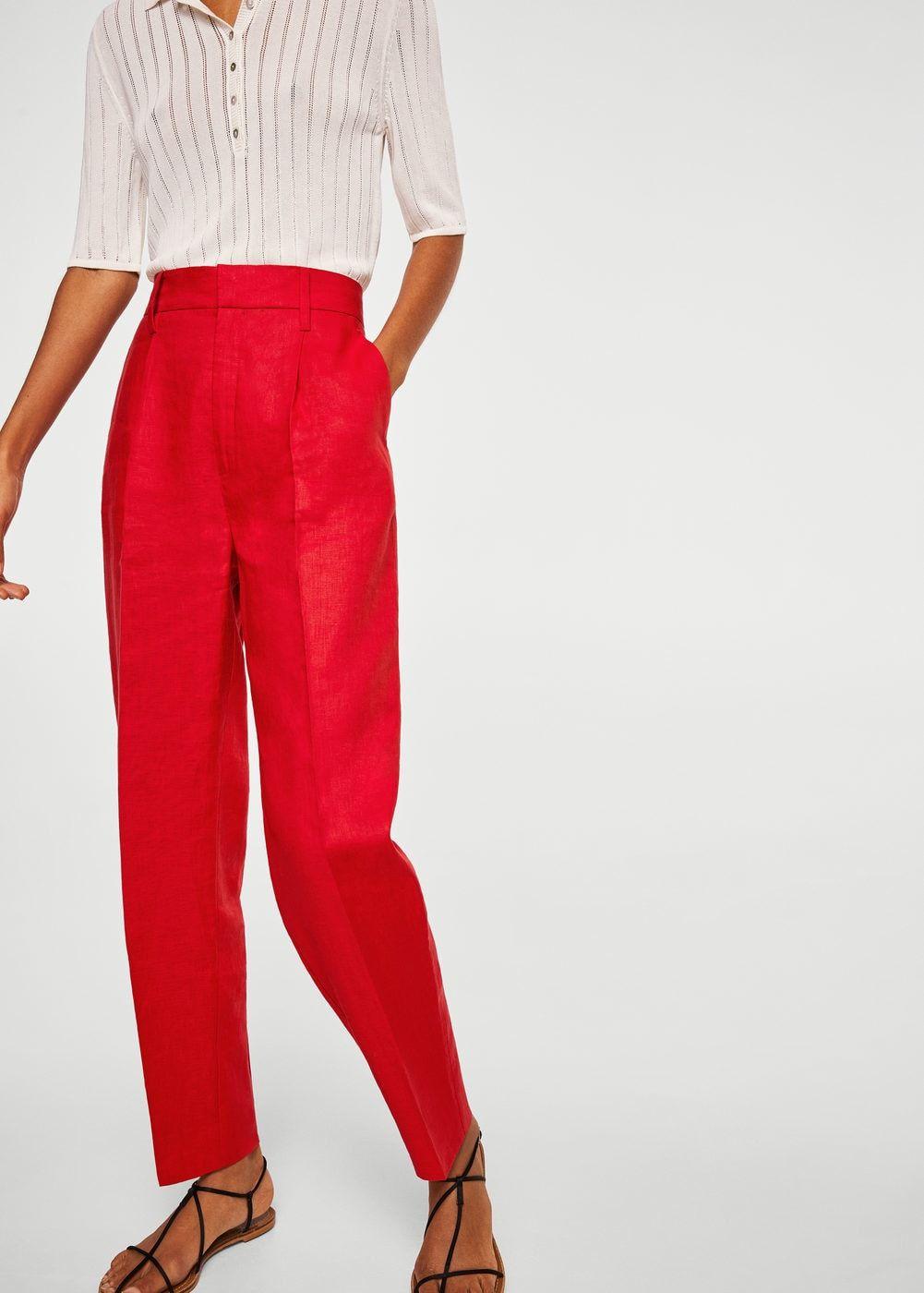 Pantalon en lin taille haute - Femme   I want to own it   Pinterest ... 731a3853d920