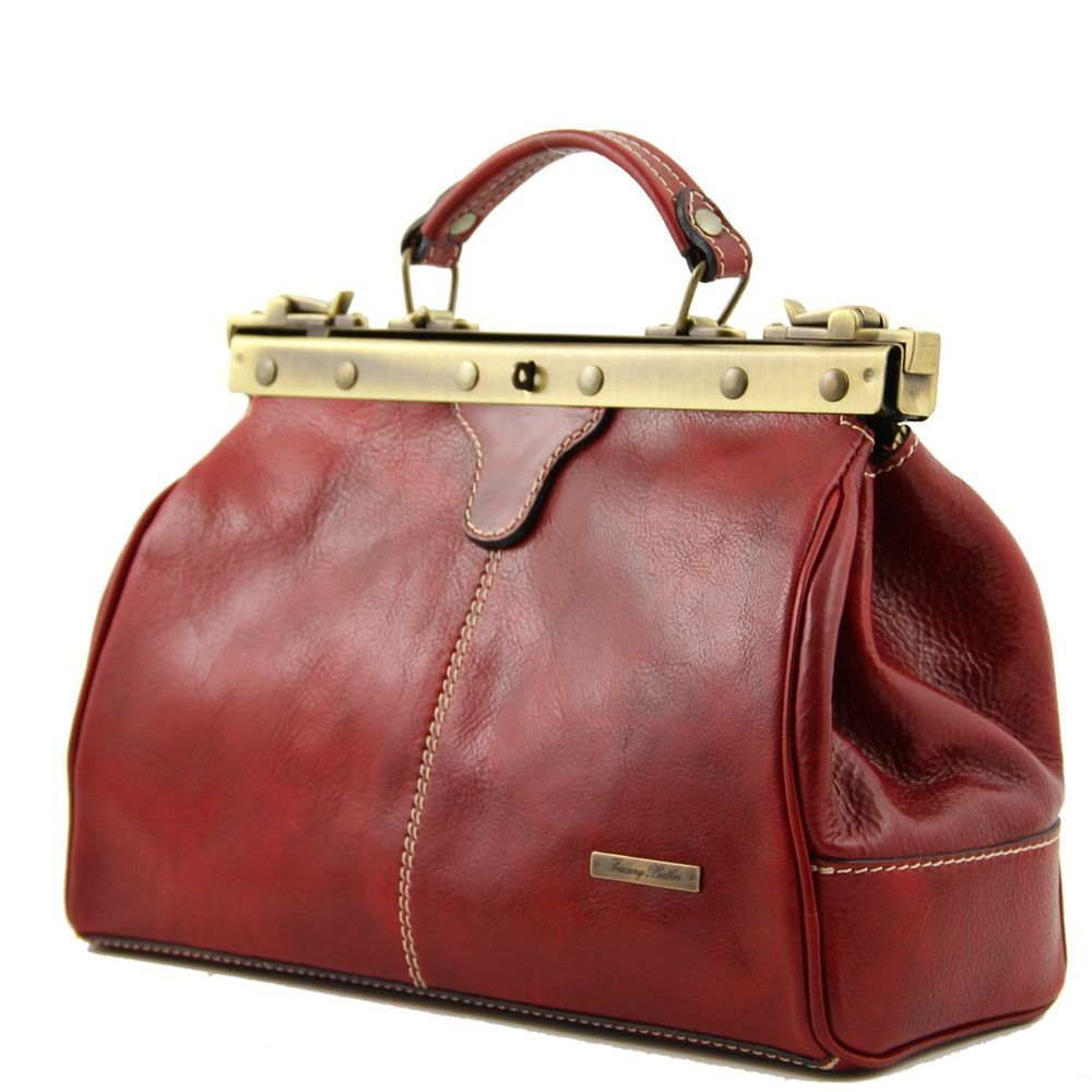 Leather Gladstone Doctor S Bag In 5 Colours The Michelangelo By Tuscany