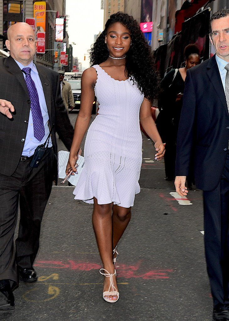 """5HonTour on Twitter: """"Normani outside of @GMA today https://t.co/23nVmgA1by"""""""