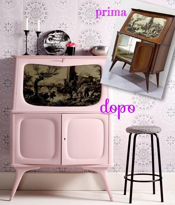 Riciclo creativo come arredare casa con i vecchi mobili - Recupero mobili vecchi ...