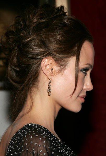 Angelina Jolie Hair Angelina Jolie Hair Hair Styles Bohemian Hairstyles