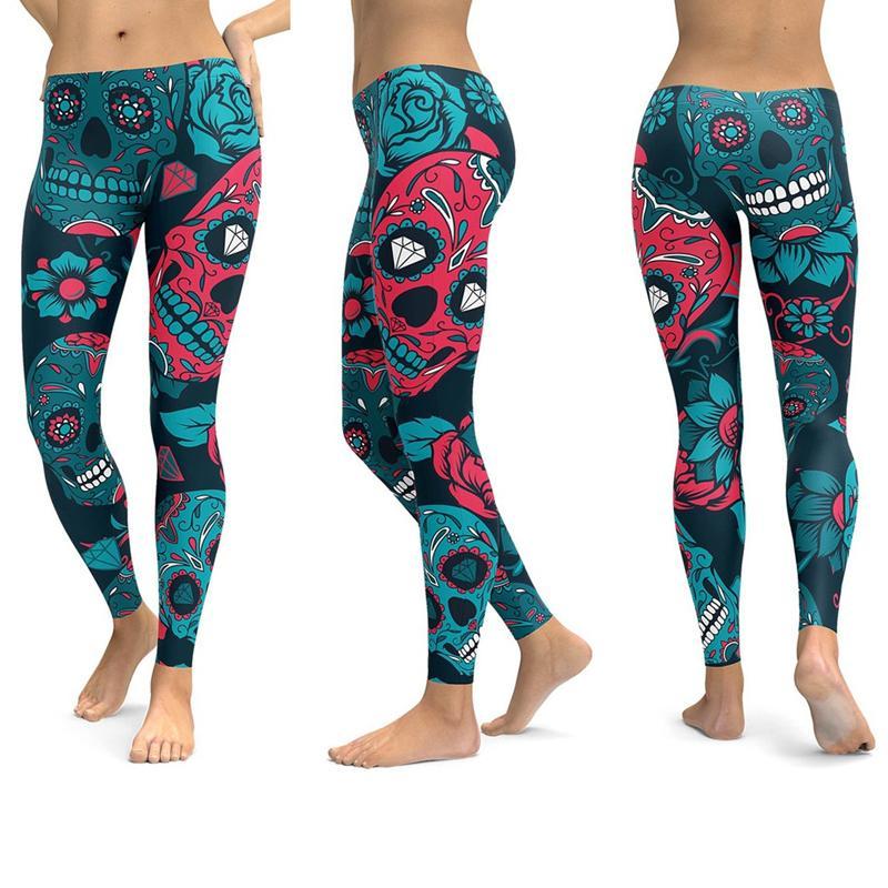 LI-FI Mandala Fitness Yoga Pants Women Sports Leggings Workout Hot Running Women's Clothing