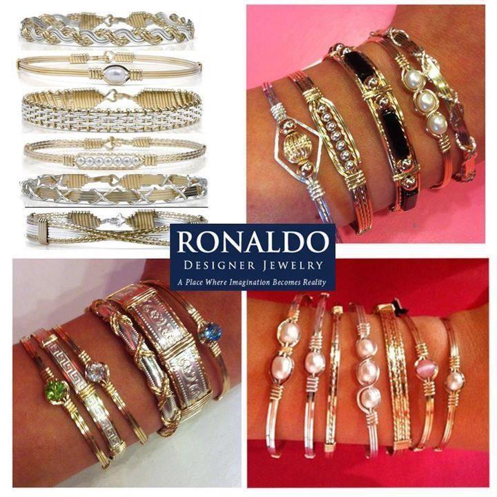 Stackable bracelets by ronaldo pink bombshell renaissance for Beards jewelry jacksonville fl