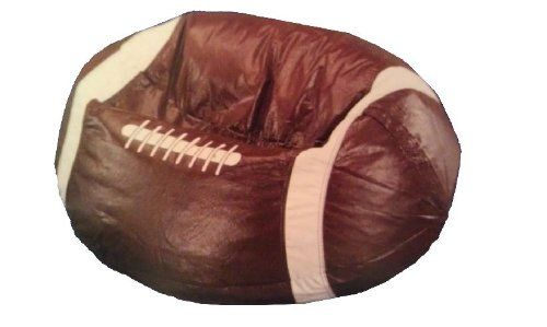 Football Shaped Bean Bag Chair To View Further For This Item Visit The Image Link Note It Is Affiliate Bean Bag Chair Football Bean Bag Bean Bag Chair Kids