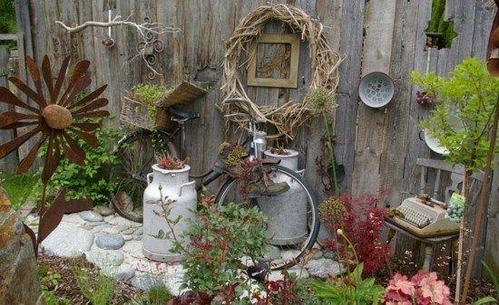 Making Unusual Diy Garden Decoration Yourself 40