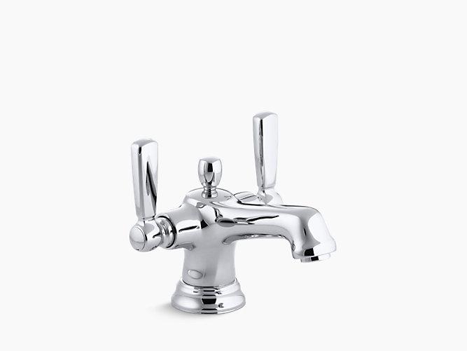 K 10579 4 Bancroft Monoblock Bathroom Sink Faucet Kohler In 2020 Sink Faucets Bathroom Sink Faucets Bathroom Sink Faucets Single Hole