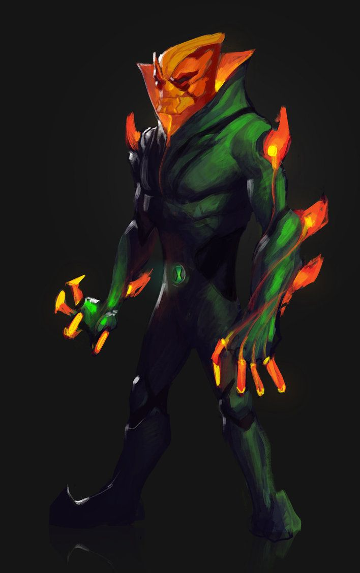 Omniverse Swampfire By Leonardovincent With Images Ben 10