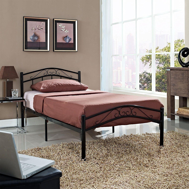 Top Metal Bett Design Kopfteil Bett Bettwasche Schwarz