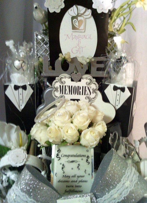 Price Cut Bridal Shower Gift Basket With By Cappelloscreations