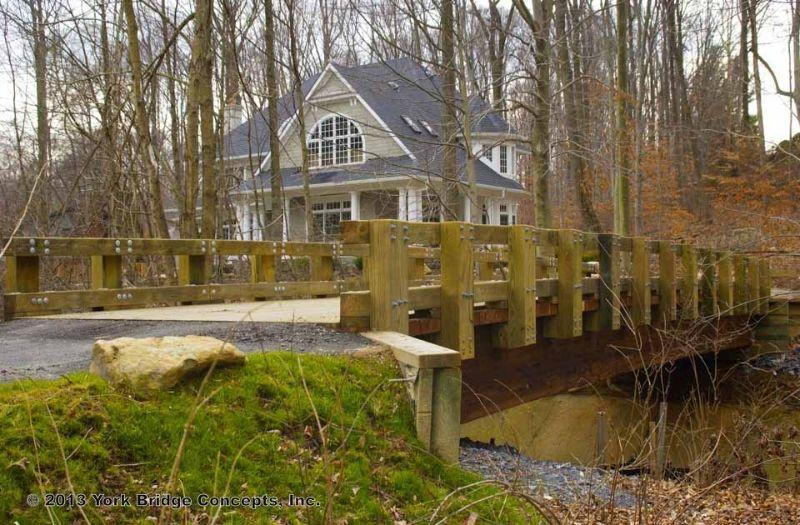 Building Driveway Bridge Residential Bridges Vehicular