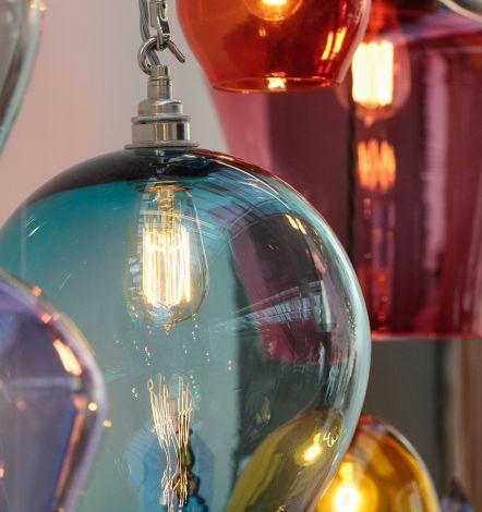Coloured lights; naff, nasty or nice? | Heart Home magazine
