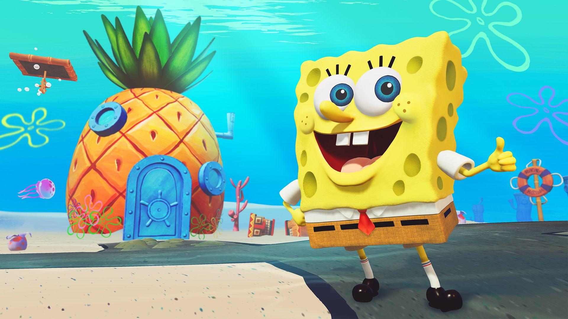 First Gameplay For Spongebob Squarepants Battle For Bikini Bottom Rehydrated Spongebob Squarepants Spongebob Squarepants