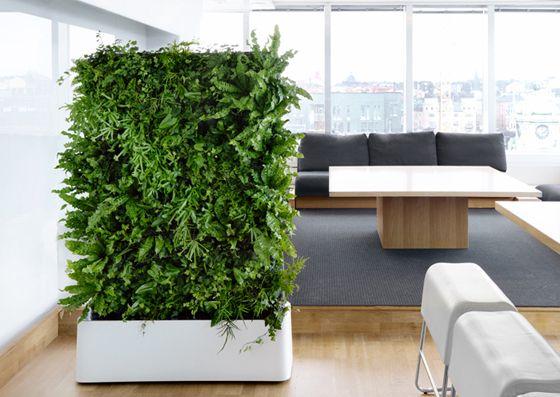 Vertikaler Garten Innen vertikale gärten indoor suche wohnzimmer