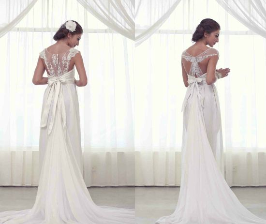 unique lace back wedding dresses that is what everyone