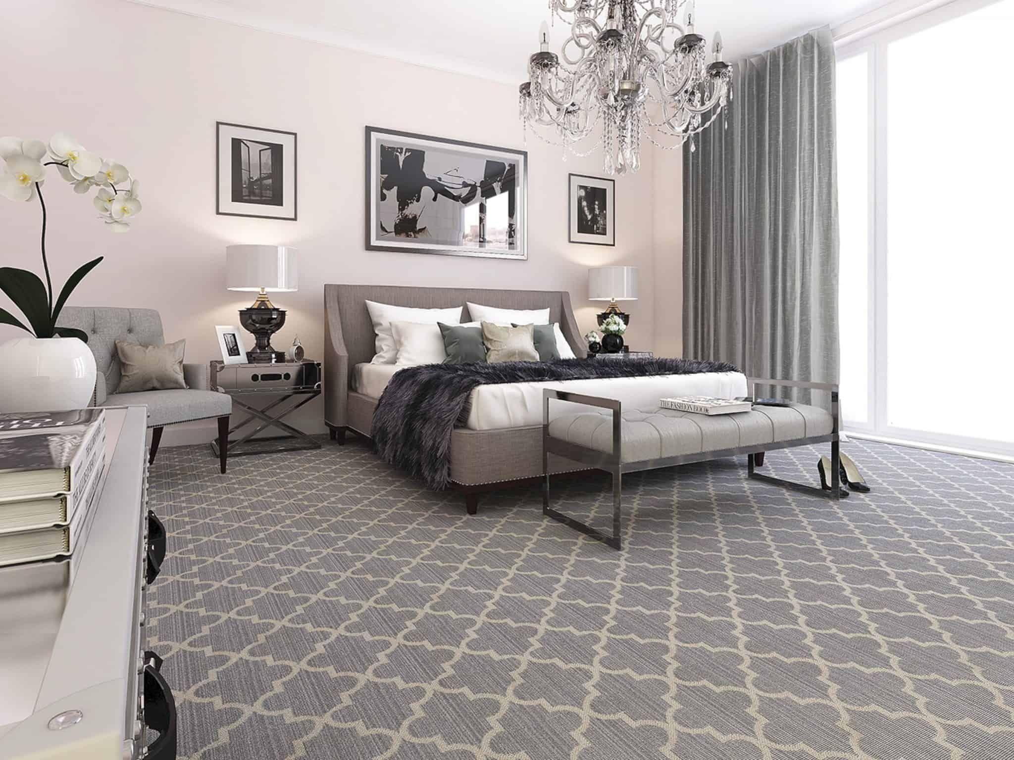 Bedroom Flooring Trends 9 in 9  Bedroom carpet, Flooring
