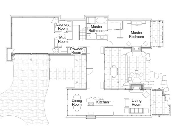 Hgtv Dream Home 2014 Rendering And Floor Plan Page 02 Dream