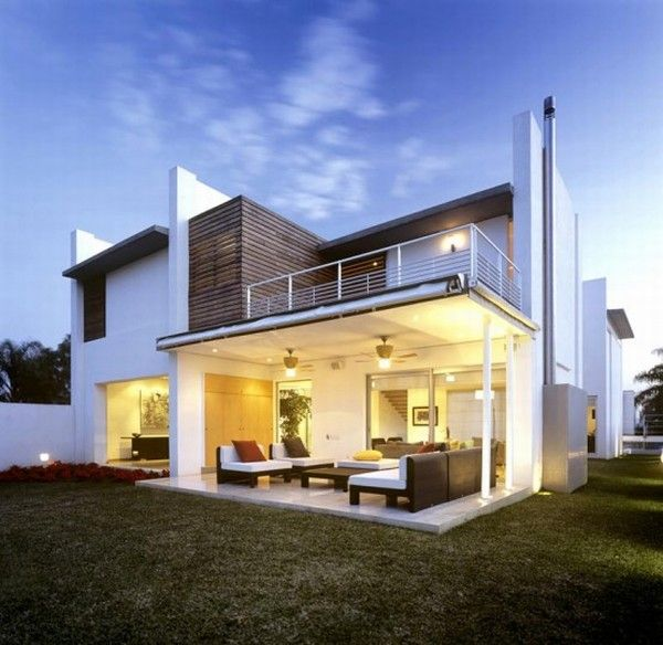 Modern Tropical House In Guadalajara Mexico Modern House Plans