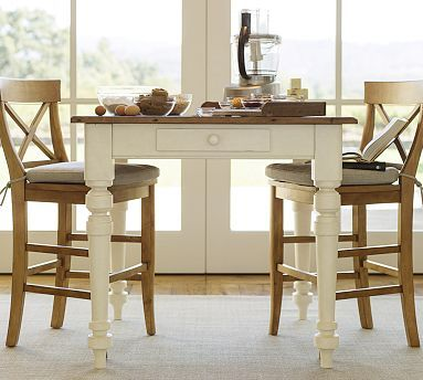 light wood kitchen table keaton square fixed counter height table white 7019