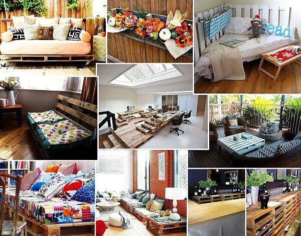 DIY Möbel aus Europaletten - 101 Bastelideen für Holzpaletten - paletten und holz diy