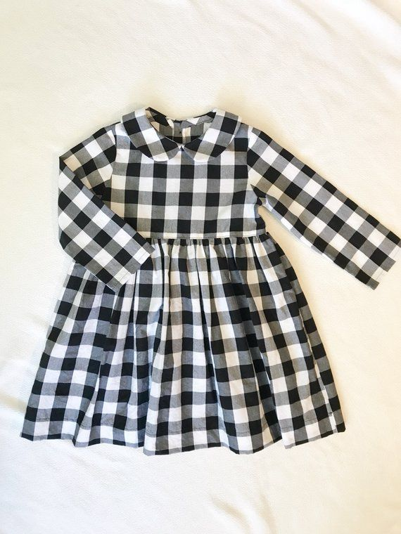25a3aacf3d09 Girls Gingham Dress
