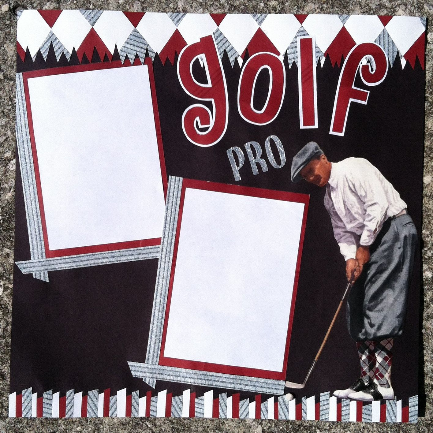 Scrapbook ideas basketball
