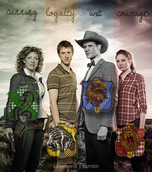 Hogwarts & Doctor Who