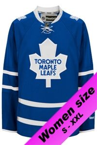 Pro-stitch official tackle twill customized Toronto Maple Leafs Womens  Replica Home NHL Hockey Jersey cf1aa35f0