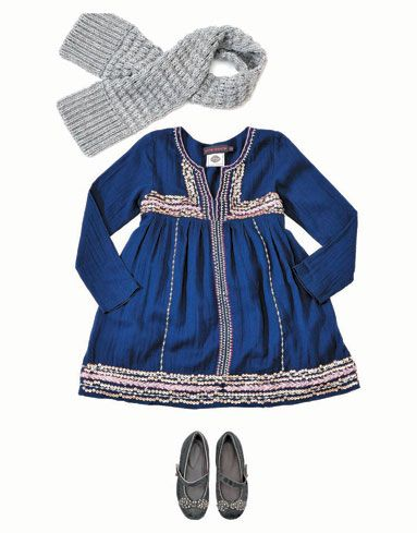 Oh my gosh... if only I could afford to dress my girls like this!  get out the sewing needle...