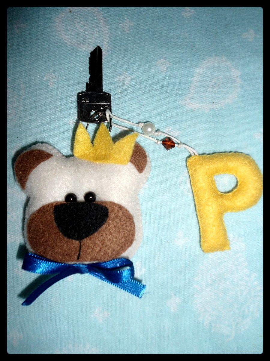 Chaveiro Urso Pedro