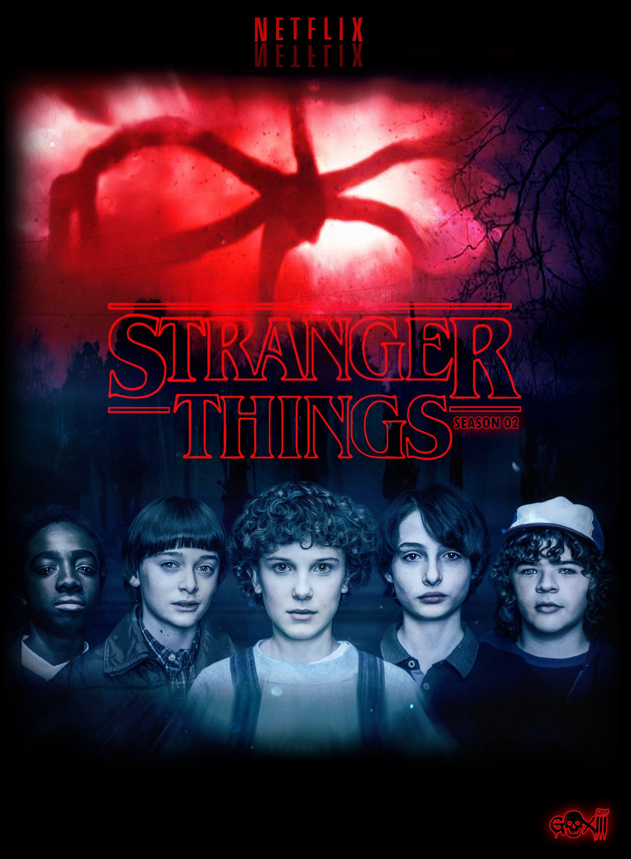 """Képtalálat a következőre """"stranger things poster"""