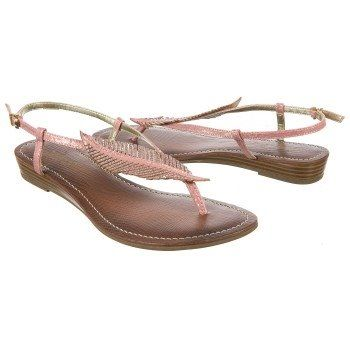 Boho Faux Leather Feather Sandals - CARLOS BY CARLOS SANTANA Women's Tandy-  $48.99 - Color