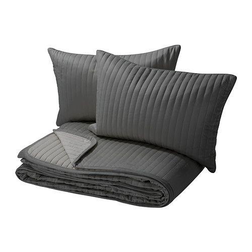 KARIT Couvre lit et 2 housses coussin IKEA Grande douceur car le
